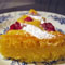 Cranberry Lemon Cornmeal Cake