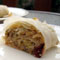 Cranberry Leek Strudel