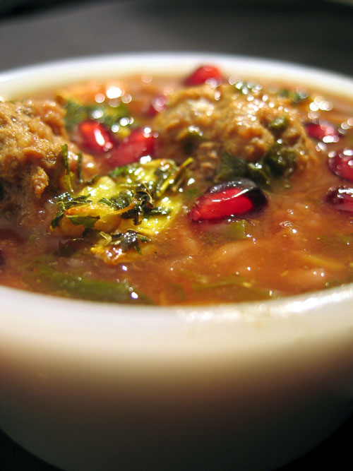 Habeas Brulee » Blog Archive » Persian Pomegranate Soup ... Persian Pomegranate Soup