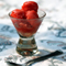 Strawberry Tarragon Sorbet