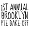 Jack is Closed (but you can vote for our pie on Sunday)
