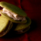 Matcha Whoopie Pies with Sakura Buttercream Filling